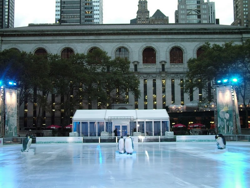 The Pond at Bryant Park - GMA