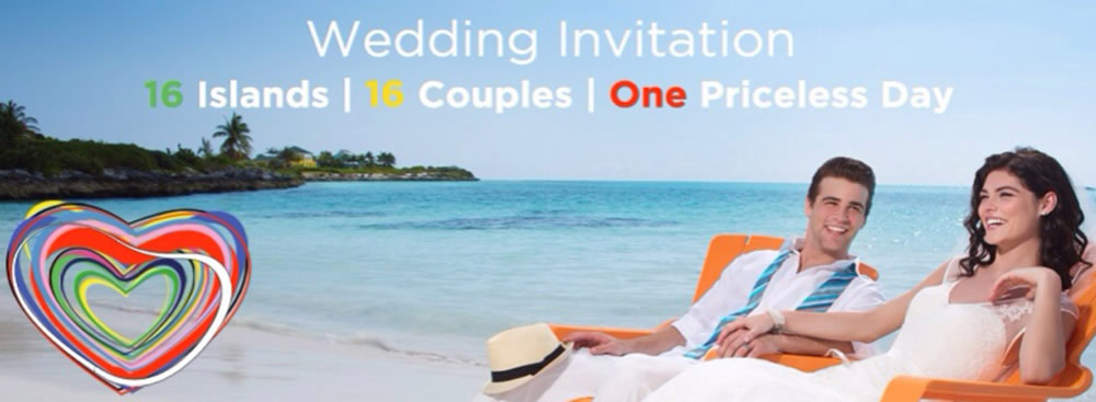16 Islands 16 Weddings 1 Priceless Day